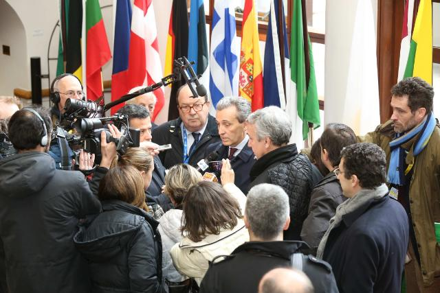 20130413 Day 2 ECOFIN Press Conference - Italian Briefing with Minister Grilli