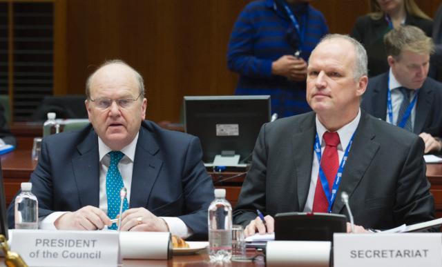 20130122 Meeting of Ecofin Council Brussels 4