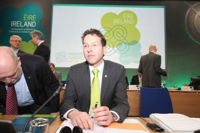 20130412 ECOFIN Eurogroup Arrivals 10
