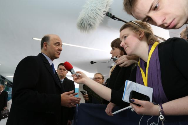 20130412 ECOFIN Eurogroup Arrivals 6