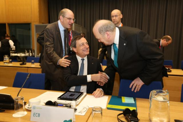 20130412 ECOFIN Eurogroup Arrivals 7
